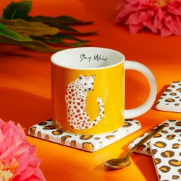 Mug léopard love