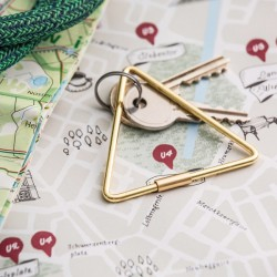 Key ring triangle