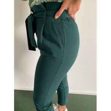 Pantalon eva vert