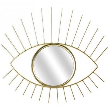 Miroir oeil doré