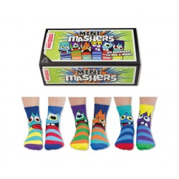 SOCKS MINI MASHERS 6 IN A BOX