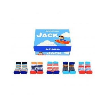 SOCKS JACK 5 PAIRS