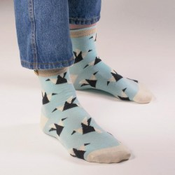 Chaussette Origami