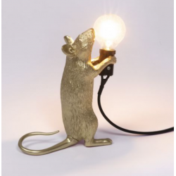 Mouse lampe Gold (debout)