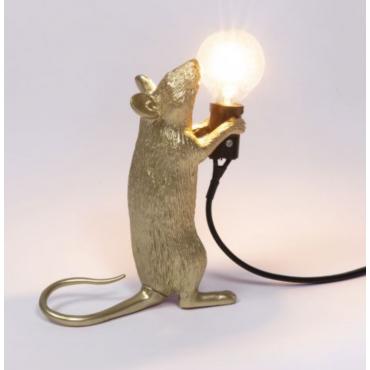 Mouse lampe Gold (debout)