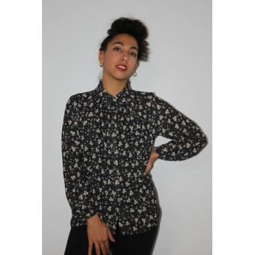 Chemise japs noir