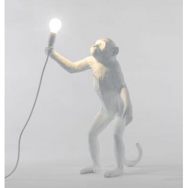 Lampe singe debout
