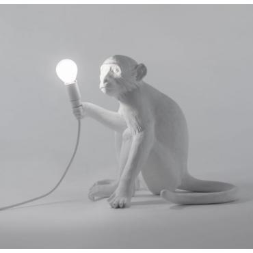 Lampe singe assis