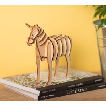 Puzzle 3D cheval