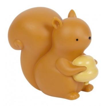 Little light squirrel