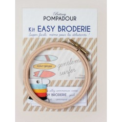 Easy broderie DIY surf