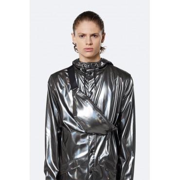 Bum bag mini Holographic steel