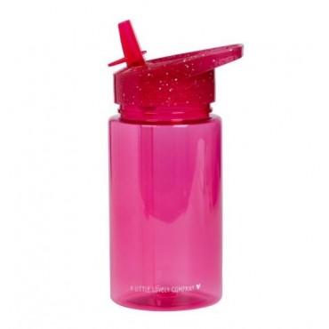 Drink bottle: Glitter - pink