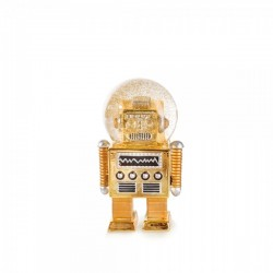 Snowglobe-The Robot Gold