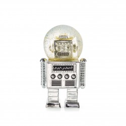 Snowglobe-The Robot Silver