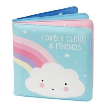 Baby bath book cloud