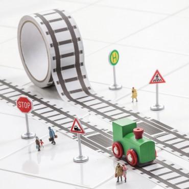 Ruban rail de train
