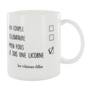 """Mug """"m'en fous je suis une..."""