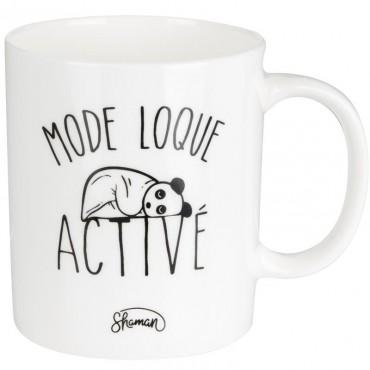 """Mug """"mode loque activé"""""""